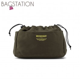 BAGSTATIONZ Canvas Bag In Bag Organizer-Green