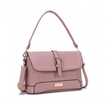 UNISA Saffiano 2-Way Usage Sling Bag-Pink