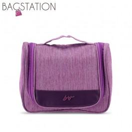 BAGSTATIONZ Lightweight Travel Toiletries Large Pouch-Purple